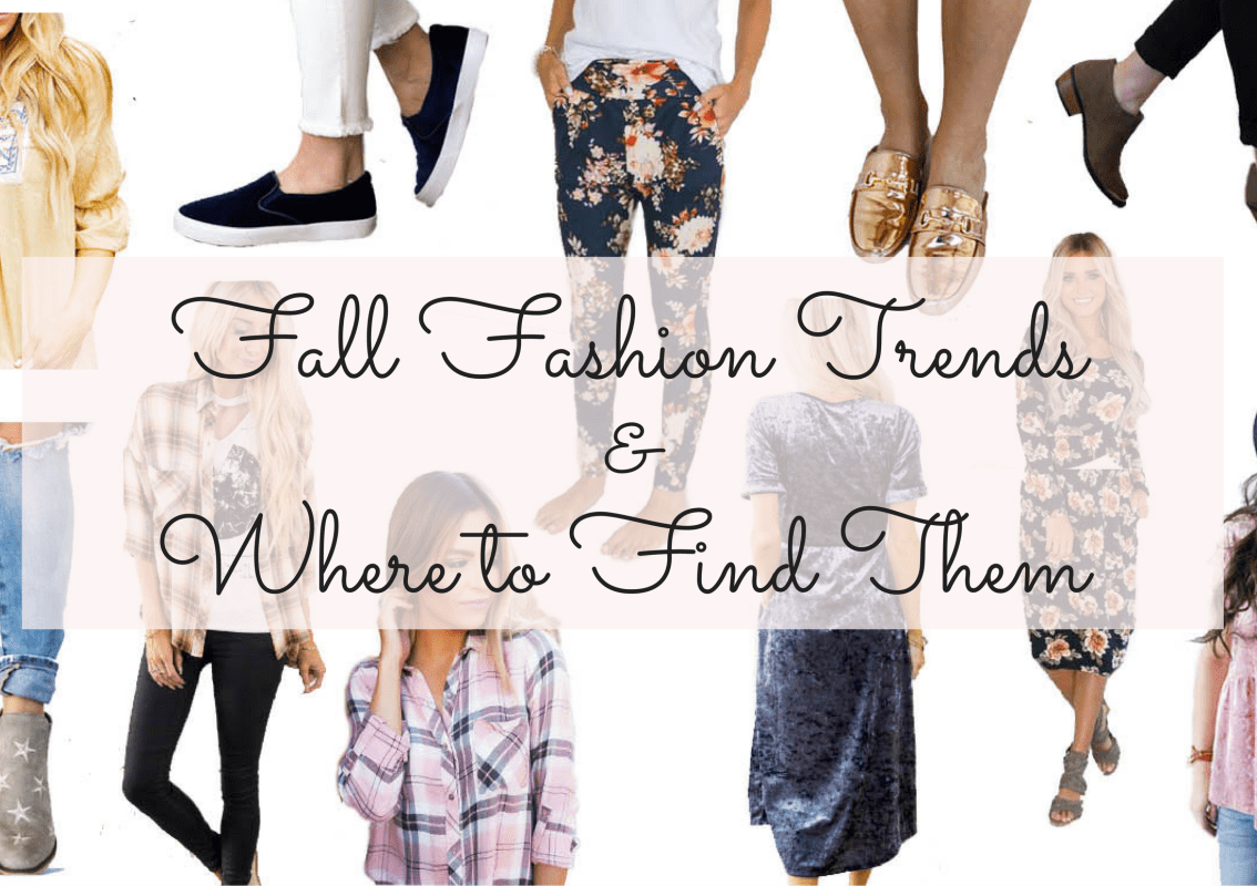 Fall Fashion Trends & Where to Find Them