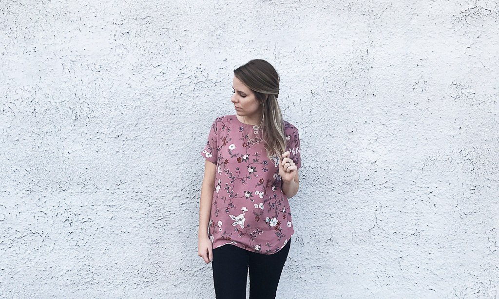 Perfect Summer to Fall Top