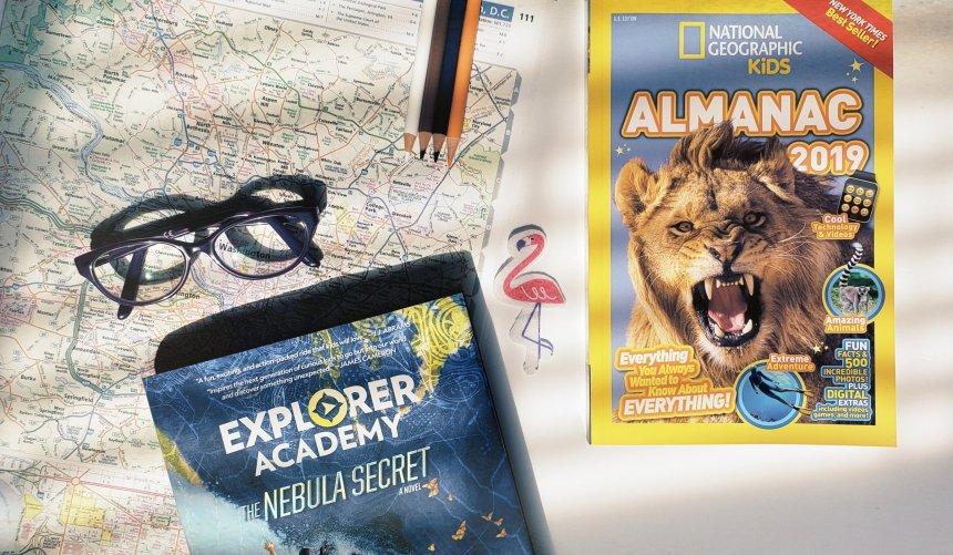 National Geographic Kids Almanac 2019 & Explorer Academy: The Nebula Secret  Book Review