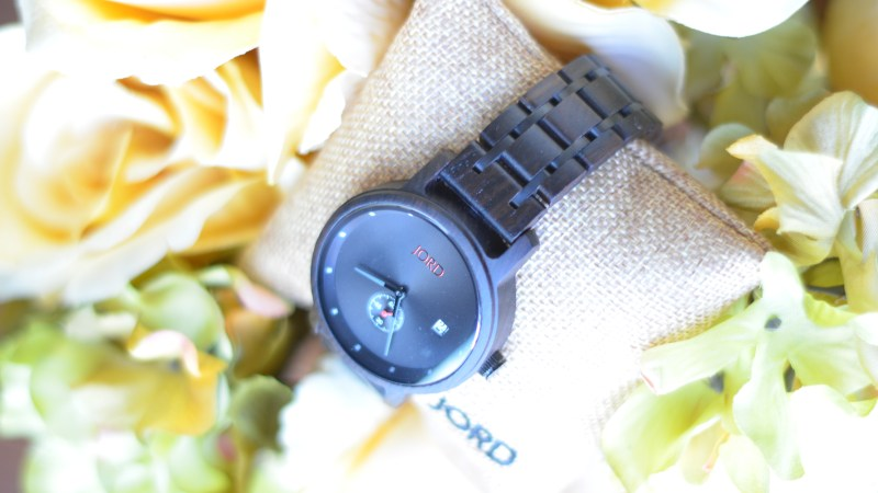 JORD: My husband's favorite wood watch & GIVEAWAY