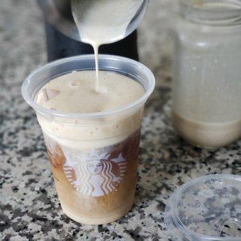 Homemade Starbucks Pumpkin Cream Cold Brew