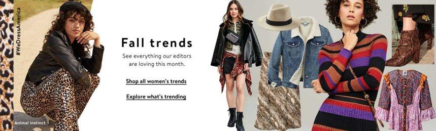 SURPRISE: Walmart Fall Fashion