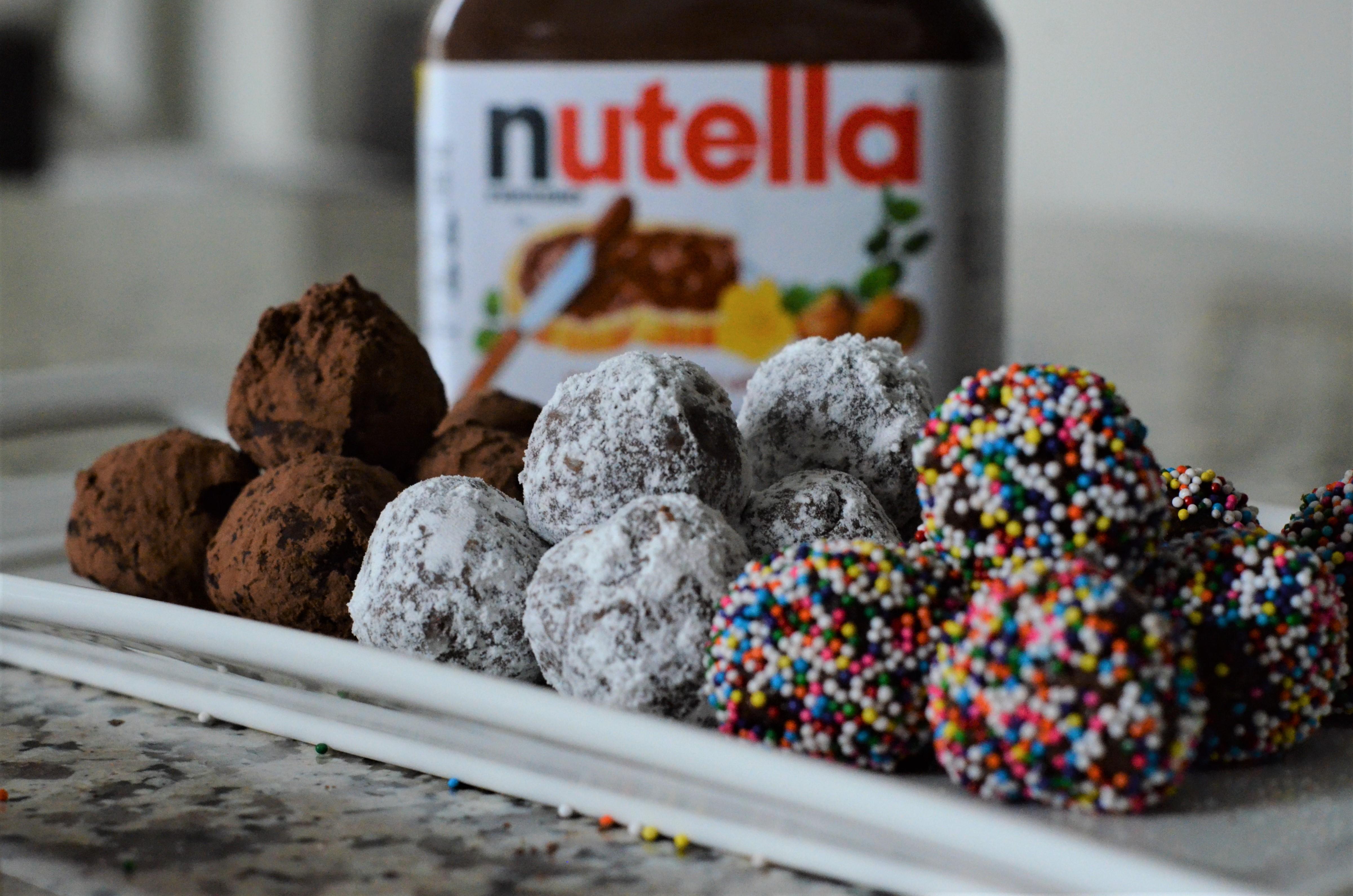 5 Minute Nutella Truffles + #WorldNutellaDay
