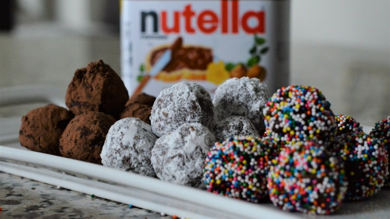 5 Minute Nutella Truffles + #WorldNutellaDay