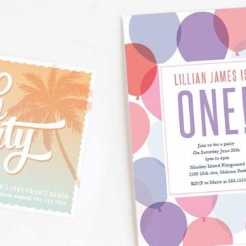 Jazz up your birthday invitations with basicinvite.com