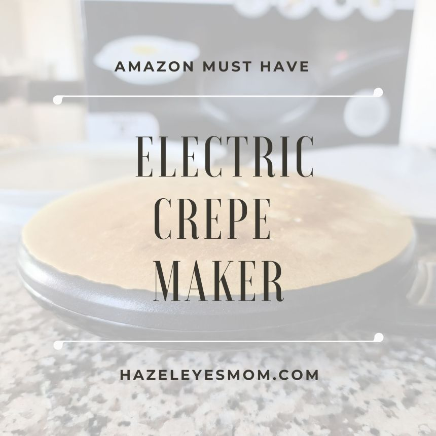 Amazon must have: electric crepe maker