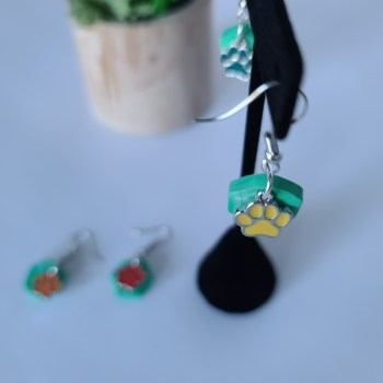 Making Earrings and Raising Money for a local Animal Shelter