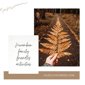 November Activities Board