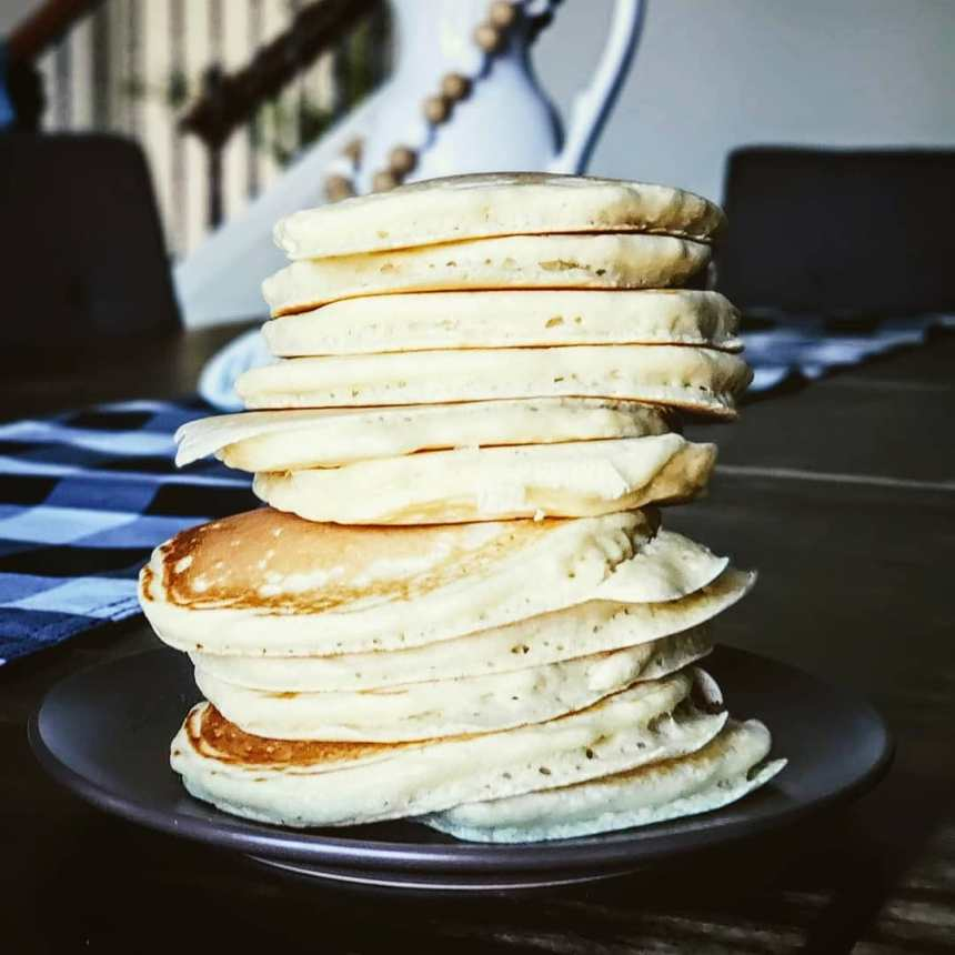 The Fluffiest Pancakes