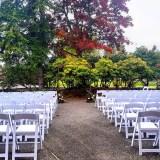 Garden Room Patio Ceremony
