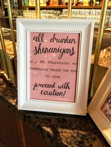 Hazelmere Bar Sign