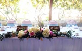 Hazelmere Bride and Groom Signage
