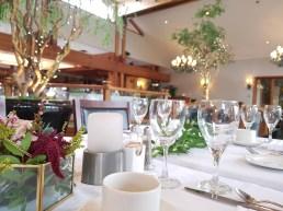 Hazelmere HD Garden Room Wedding Table Close Up