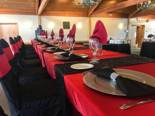 Hazelmere Panorama Black & Red Wedding (7)