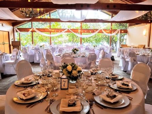 Hazelmere Panorama Room Wedding with Sails