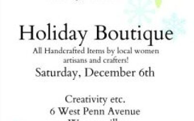 Hazelnut deux and Friends Holiday Boutique
