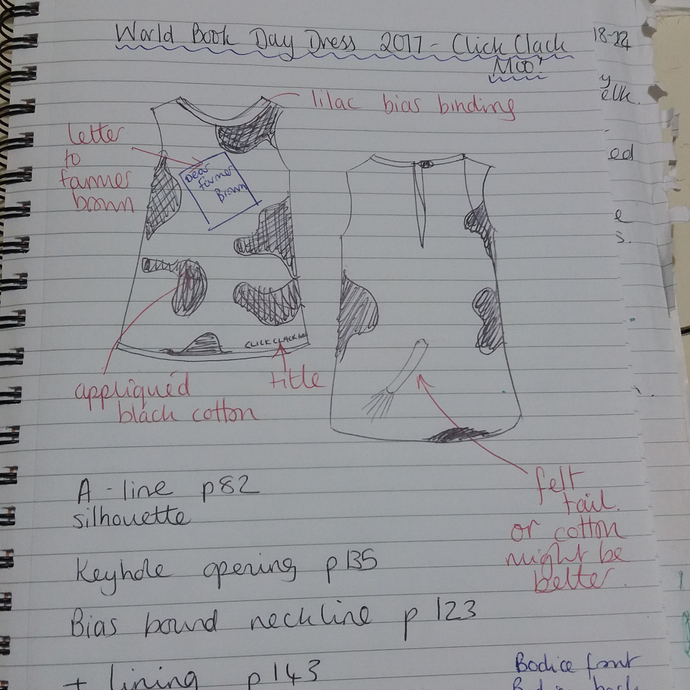 Cow Print A Line Dress My Moovalous World Book Day Make