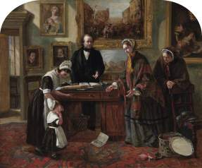 The Foundling Restored to its Mother, Emma Brownlow, 1858