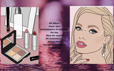 Mii Cosmetics and Jessica Nails Event