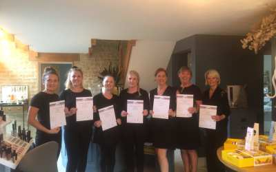 HAZELWOOD RECEIVES CANCER MASSAGE TRAINING