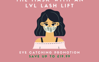 Rise above the mask with an LVL lash lift