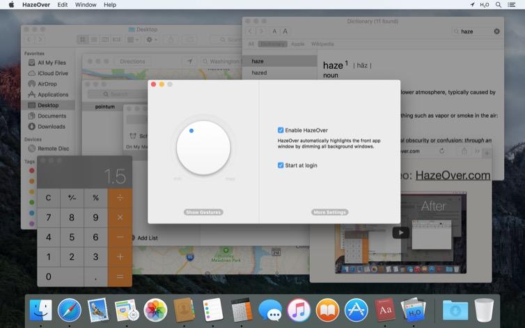 HazeOver Mac 破解版 实用的多窗口管理工具