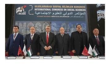 Kudüs'te Düzenlenen 2. Uluslararası Sosyal Bilimler Kongresi Sona Erdi