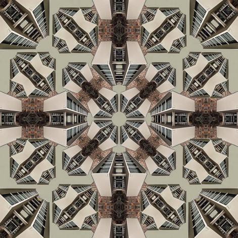 Pavillon // 100 x 100 cm // Echter Foto-Abzug unter Acrylglas