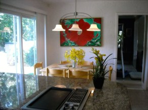 Our Dining Area In Kitchen