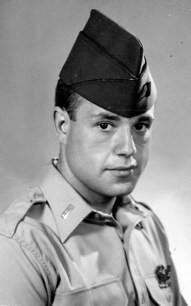 Len Rapoport - At 19 Years Old, Serving his country