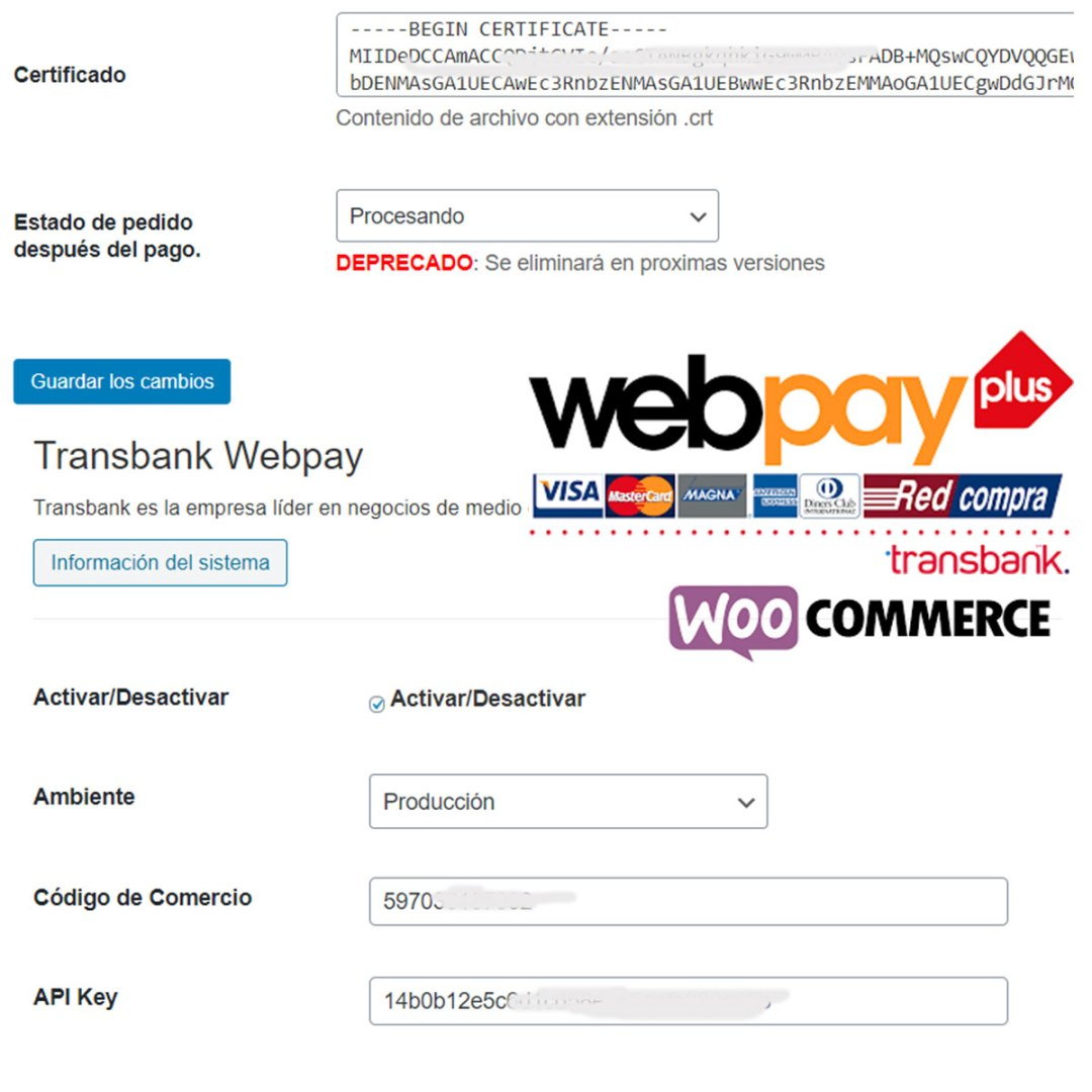 integracion webpay plus rest woocommerce prestashop