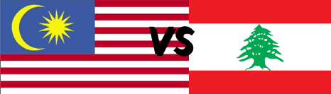 Malaysia vs Lebanon(Lubnan)
