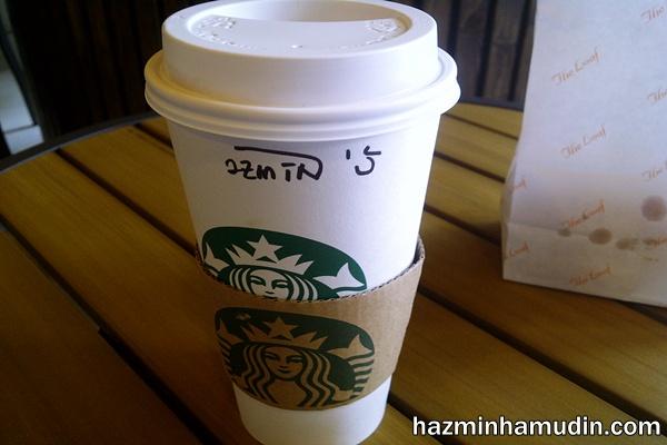 Hot Salted Caramel Mocha Frappuccino