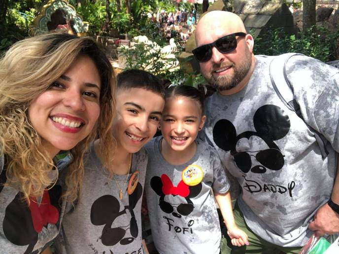 The Robson's at Disney World