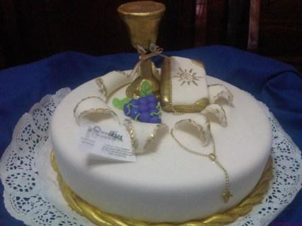 Ideas de tortas de comunion y bautismo