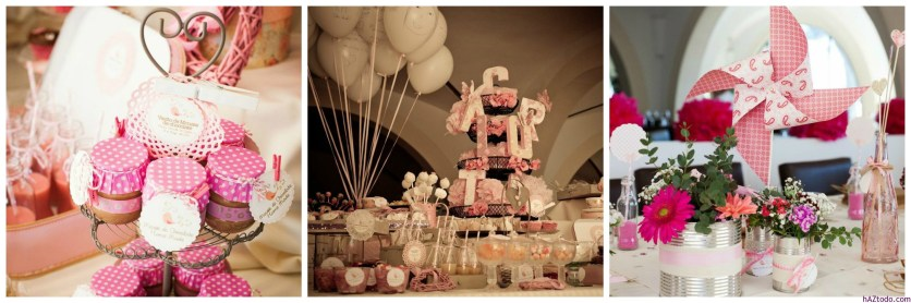 Los globos son una clásico para la Primera Comunión y el Bautismo