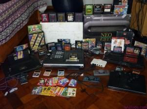 Consolas antiguas de juegos