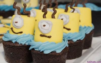 Cómo hacer Cupcake de Minions