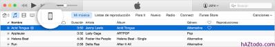 Copiar contenido de iTunes al iPhone, el iPad o el iPod touch