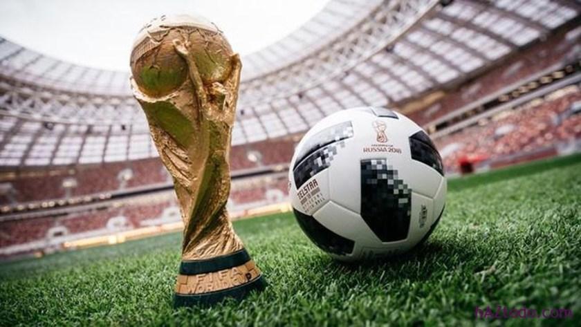 Este es el Telstar 18, el balón oficial que rodará en los campos de la Copa Mundial en Rusia 2018.