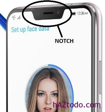 Qué es un móvil con NOTCH en la pantalla?