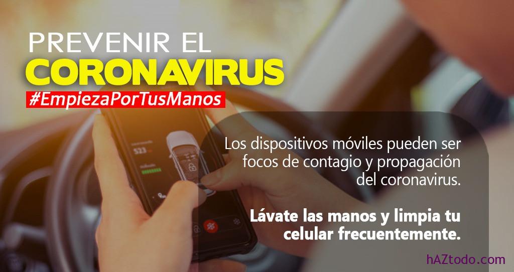Cómo desinfectar el móvil por el coronavirus