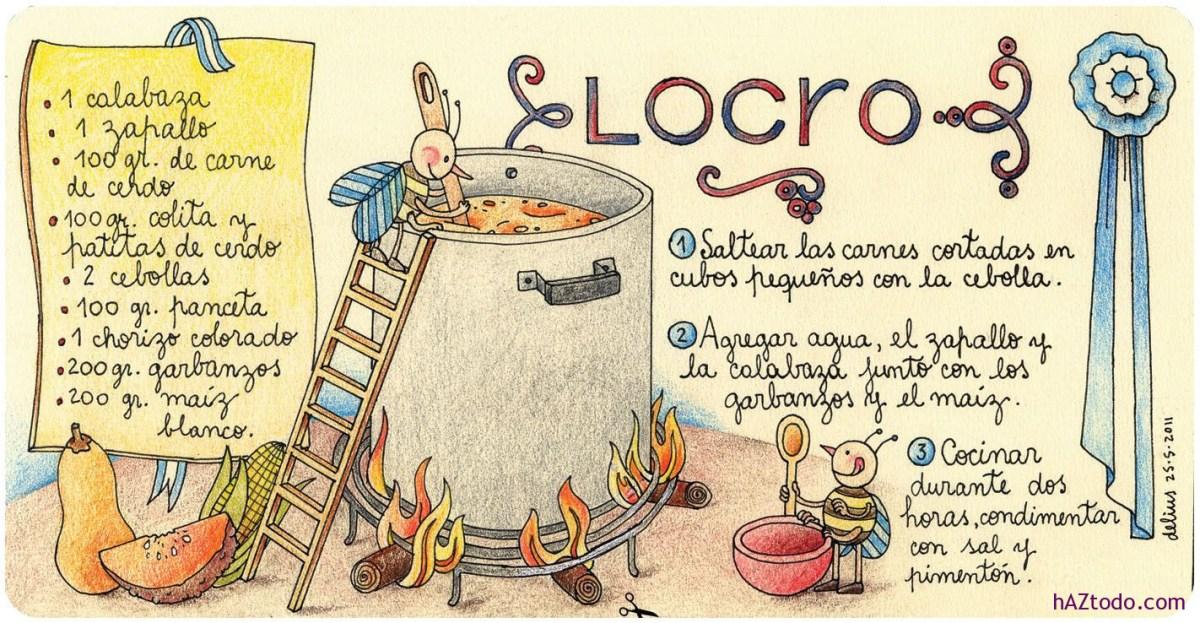 Receta de Locro criollo argentino