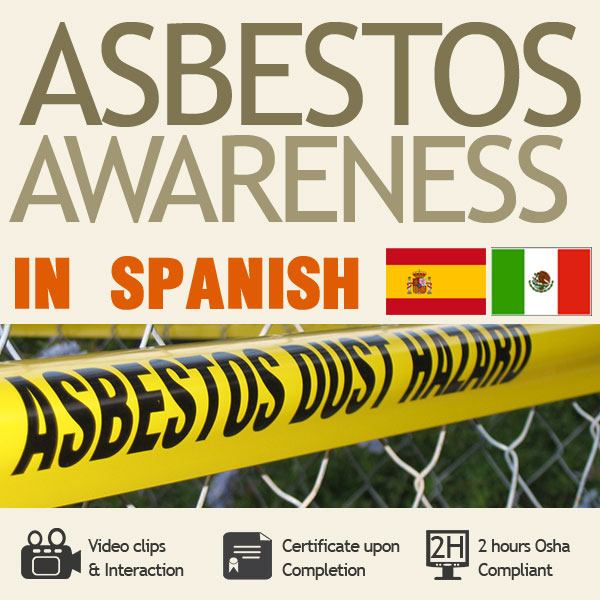 two hour asbestos training in spanish