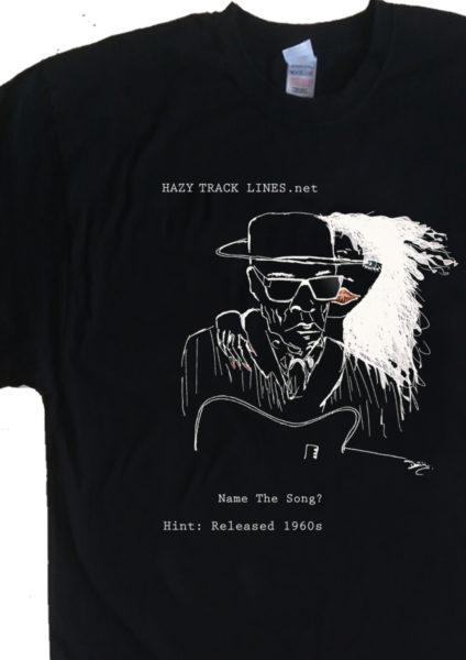 Hazy Track Lines T Shirt quiz