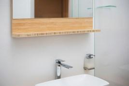 Modern Bathroom Renovation   Helen Baumann Design
