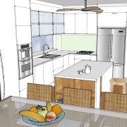 Kitchen Renovation 3D   Helen Baumann Design