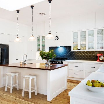 Hamptons Kitchen Makeover | Helen Baumann Design