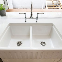 Hamptons Kitchen Sink | Helen Baumann Design