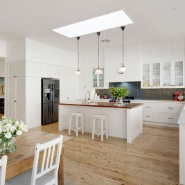 Hamptons Style Kitchen | Helen Baumann Design